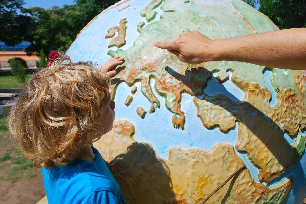 teaching, child, world